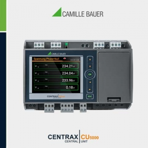 Camille Bauer CENTRAX CU5000 Multifunction Programmable Transducer with PLC function