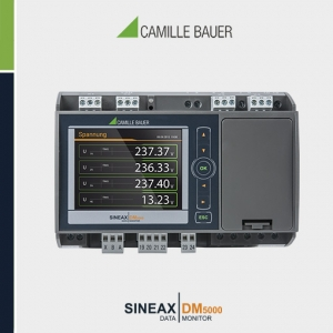 Camille Bauer SINEAX DM5000 Multifunction Programmable Transducer