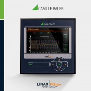 Camille Bauer LINAX PQ3000 Class A Fixed Mount Power Quality Analyser