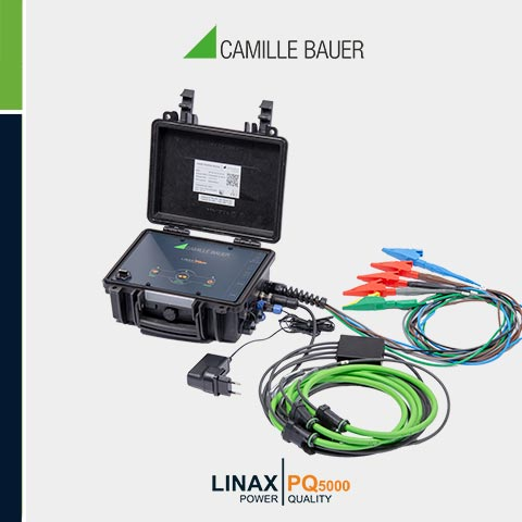Camille Bauer LINAX PQ5000-Mobile Class A Portable Power Quality Analyser