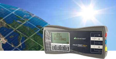 Gossen Metrawatt PROFITEST PVsun PV module and string tester