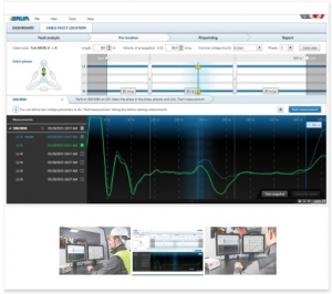 Bauer Software 4 package for cable fault location, cable testing & cable diagnostics