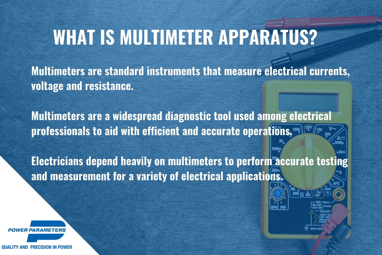 what is multimeter equipment